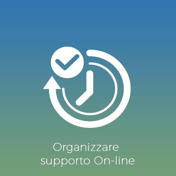 Organizzare supporto Online